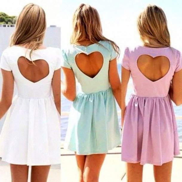 dress heart skater dress