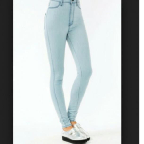 jeans jeans denim light jeans acid wash