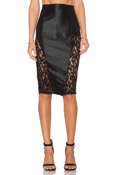 Misha Collection skirt black