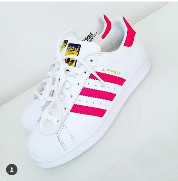 superstar pink adidas
