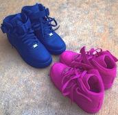 shoes,nike air force 1 high top,belt,nike high tops air force 1  purple,nike air force 1,blue air force one,nike forces,pink shoes,nike air,blue mid air force 1 same as pic,nike air force,high top,blue nike air force ones