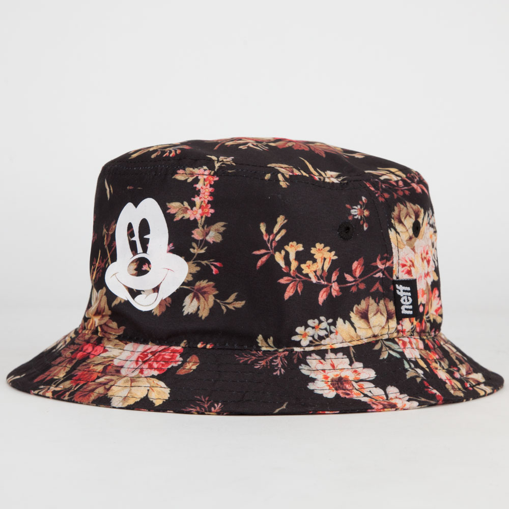 NEFF Disney Collection Mickey Floral Mens Bucket Hat 243847149 ... a3a97082d66