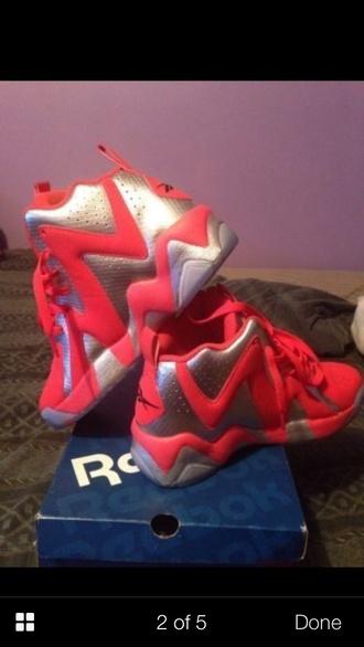 shoes reebok sneakers kamikaze ii