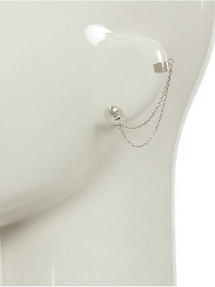 Chain ear cuff & stud set – lilypop boutique