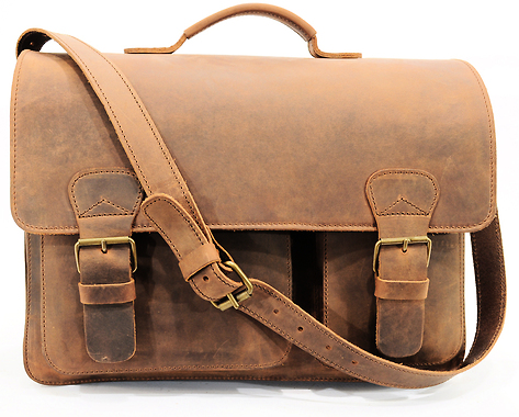 Cartable Vintage Director - Sacs Hommes - Cartables en cuir Ruitertassen