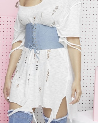 belt denim denim belt corset corset belt denim corset belt lace up lace up belt