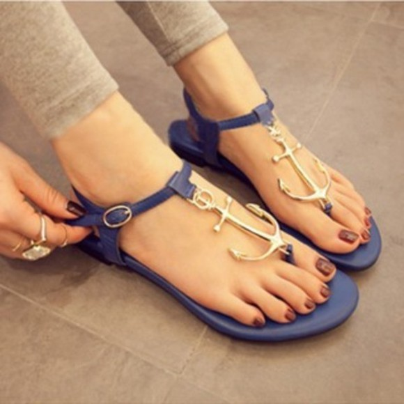 anchor shoes sandals