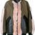 Drome - faux-fur appliqué jacket - women - Lamb Skin/Polyester/Acetate/Viscose - XS, Green, Lamb Skin/Polyester/Acetate/Viscose