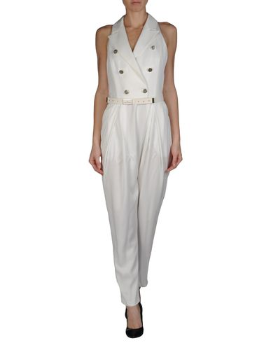 Trouser dungaree elisabetta franchi 24 ore on yoox
