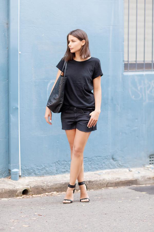 harper & harley t-shirt shorts bag shoes