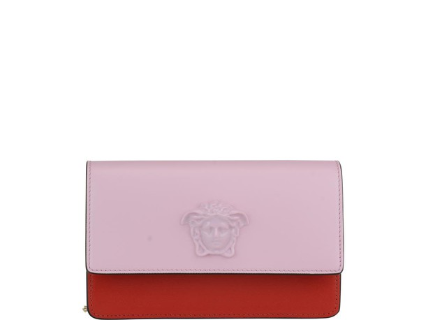 VERSACE bag pink red