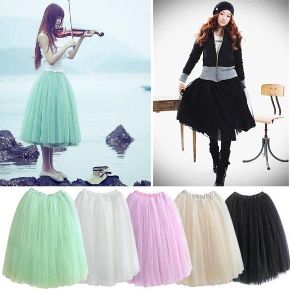 Puffy Midi Skirt - Skirts