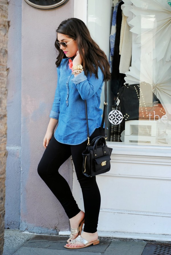 madison lane t-shirt pants shoes jewels bag sunglasses