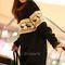 New sweatshirt hoodies reindeer motifs crew neck thicken long blouse outerwear   ebay