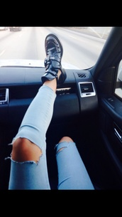 shoes,jeans,cara delevingne,the carrie diaries