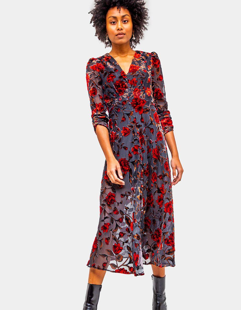 Jalisca Floral Dress