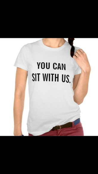 shirt you can sit with us t-shirt crewneck hoodie etc