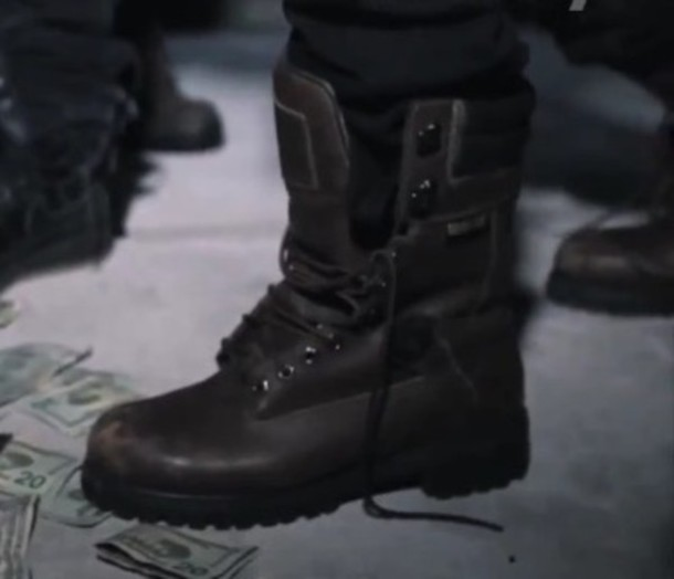 Shoes Asap Rocky Brown Leather Boots Combat Boots