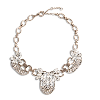 Tres Sparkle Necklace