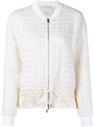 women cotton silk nude jacket
