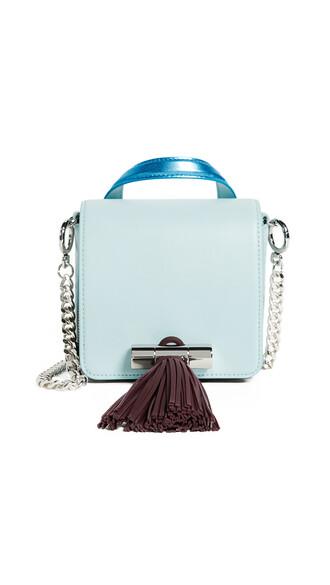 mini sailor bag blue sky blue