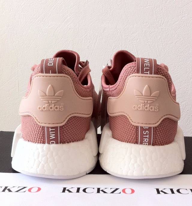 brand new 91603 0a110 Adidas NMD R1 W Raw Pink Rose Salmon Peach S76006 Womens