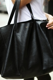 bag,celine,purse,tote bag,black bag,black tote,celine bag