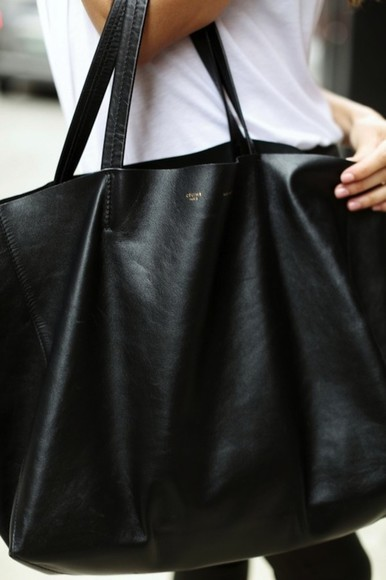 bag tote bag purses tote purse celine black bag black tote celine bag