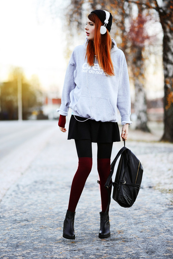 ebba zingmark sweater skirt shoes t-shirt