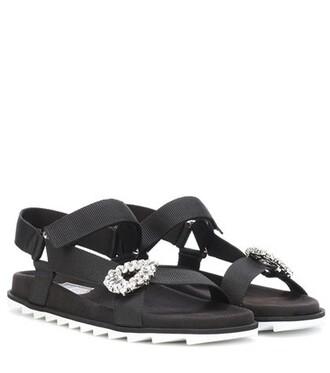 embellished sandals embellished sandals black shoes