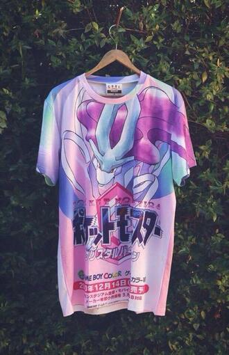 t-shirt pokemon