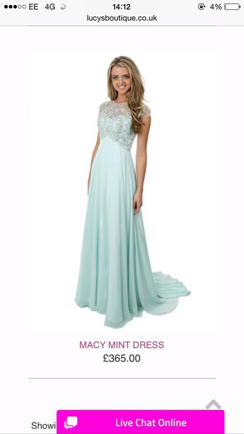 dress mint green prom dress lucysboutique