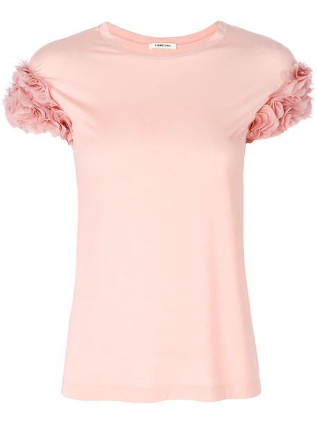 LARDINI blouse women spandex purple pink top