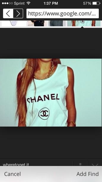 shirt chanel shirt