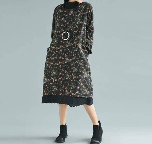 dress loose dress maxi dress