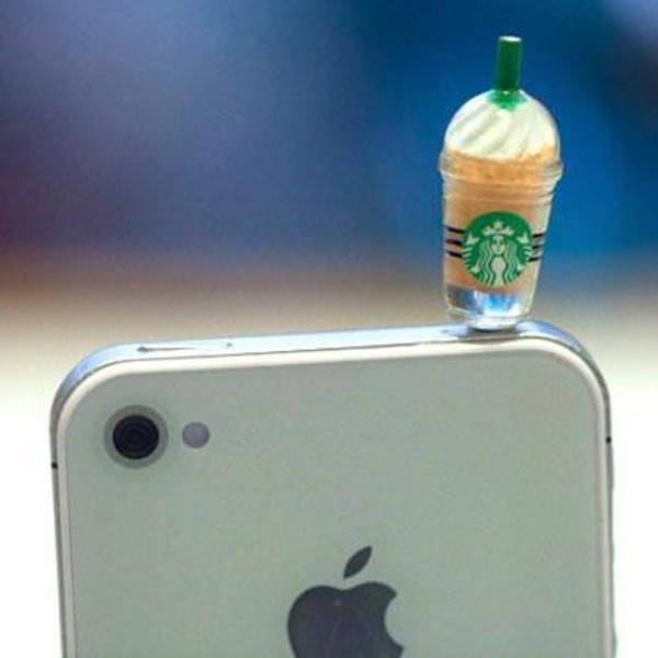 jewels iphone starbucks coffee