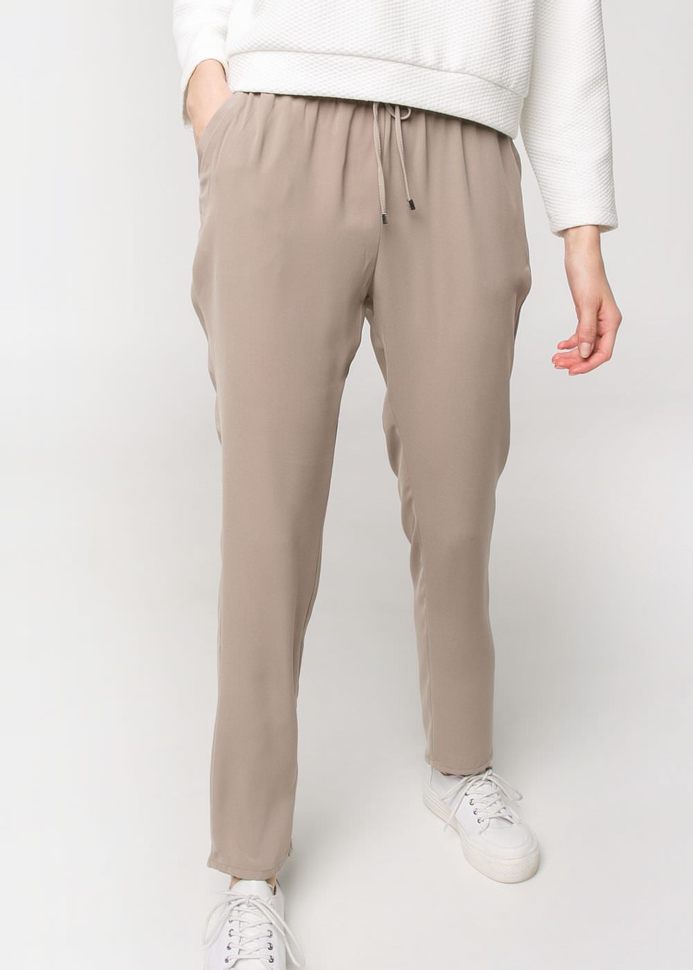 Flowy baggy trousers -  							  							Women - 							MANGO