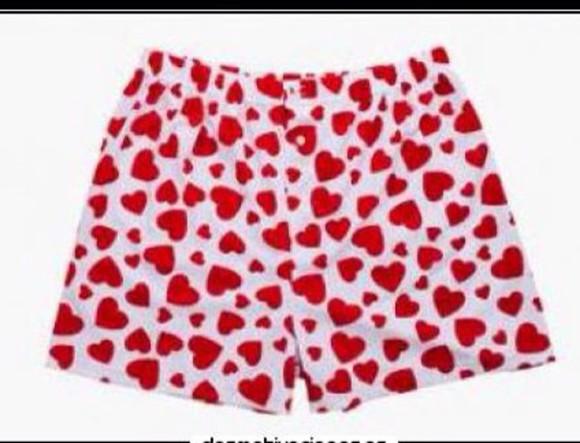 funny underwear heart menswear pamts underpants