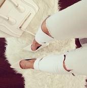 shoes,bag,jeans,denim jacket,denim,denim shorts,denim overalls,denim vest,ripped jeans,black jeans,high waisted jeans,skinny jeans,boyfriend jeans,blue jeans,white ripped jeans,light blue jeans,white,ripped,streetwear,streetstyle,street goth
