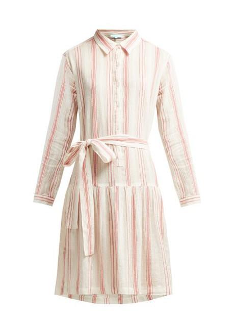 Melissa Odabash - Amelia Striped Cotton Dress - Womens - Red Stripe