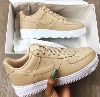 shoes nike shoes beige shoes