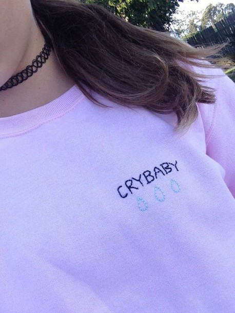 T Shirt Shirt Sweater Tumblr Pink Aesthetic Hipster