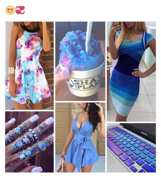 Purple Short Casual Dress