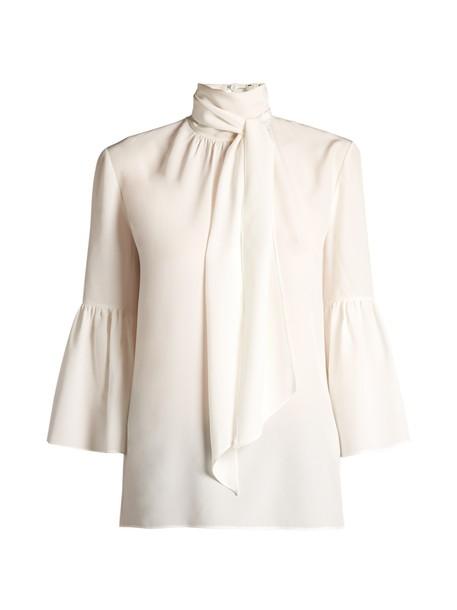 Fendi blouse silk top