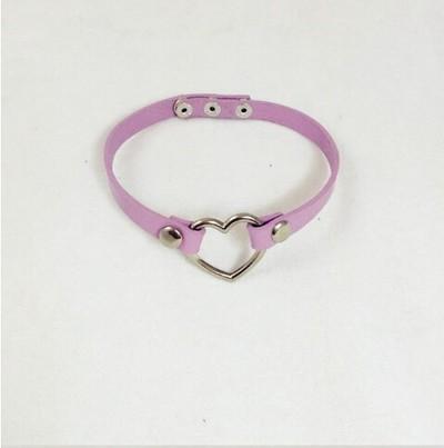 Purple heart choker · shopevelynjacole · online store powered by storenvy