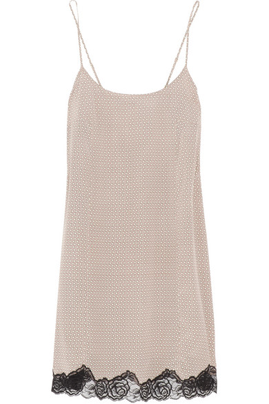 Stella McCartney | Ellie Leaping printed stretch-silk chemise | NET-A-PORTER.COM