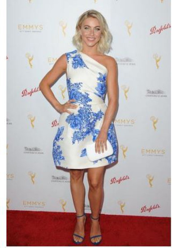 dress one shoulder julianne hough cocktail dress summer dress
