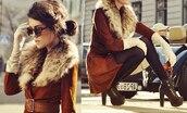 coat,brown coat,brown leather coat,leather coat,suede,outerwear,brown,winter coat