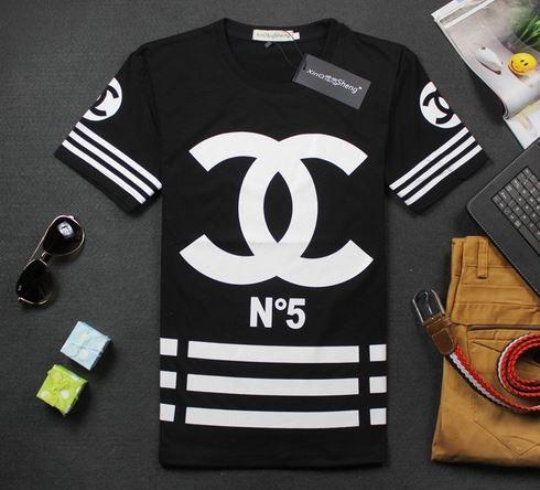 Homme CC Logo T Shirt - White or Black from Tumblr Fashion on Storenvy