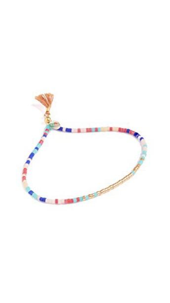 SHASHI tan jewels
